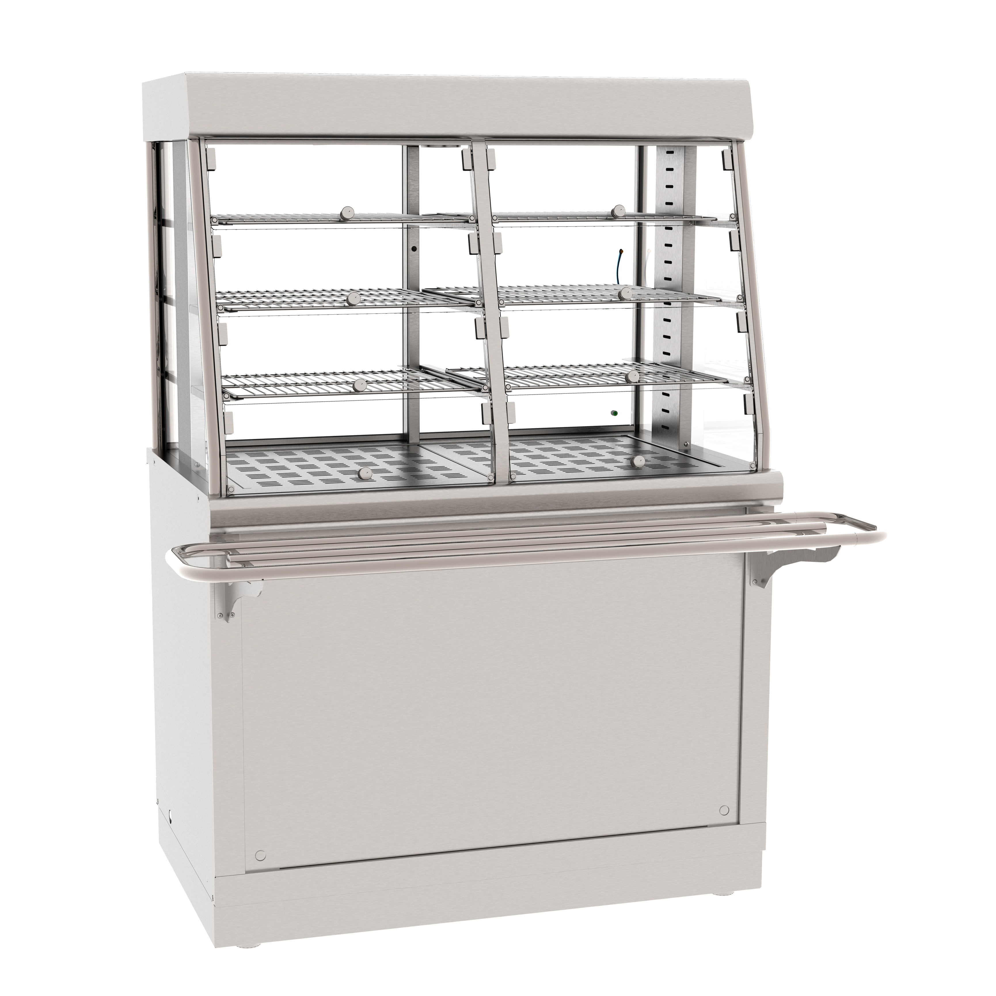 Прилавок-витрина тепловой ЧувашТоргТехника ПВТ-70Х
