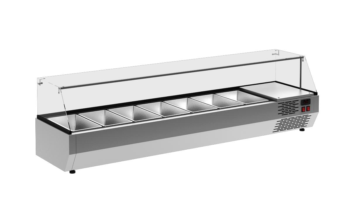 Витрина холодильная Carboma IKI А30 SM 1,3-G 0430 на сайте Белторгхолод