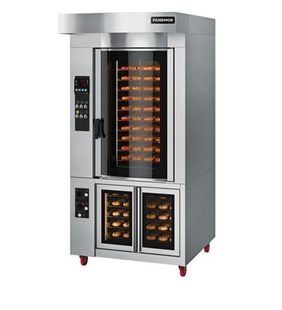 Миниротационная печь Panemor PM 6040 FC E/G расстойный шкаф