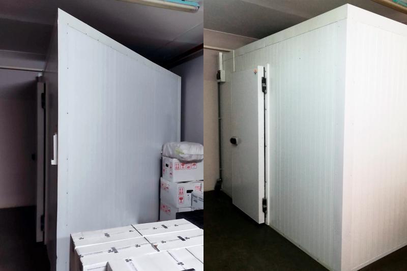 Изменение конфигурации холодильной камеры в д. Большой Тростенец