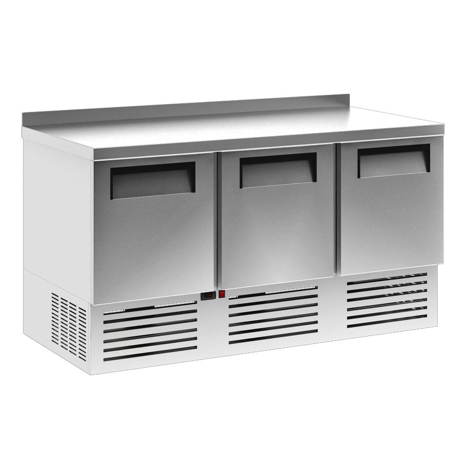 Холодильный стол Carboma T70 M2GN-2 (с бортом) Б/У на сайте Белторгхолод
