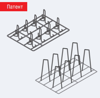 Аксессуары пароконвектомат Rational Решётки Superspike для цыплят и уток Вместимость H12 6035.1011