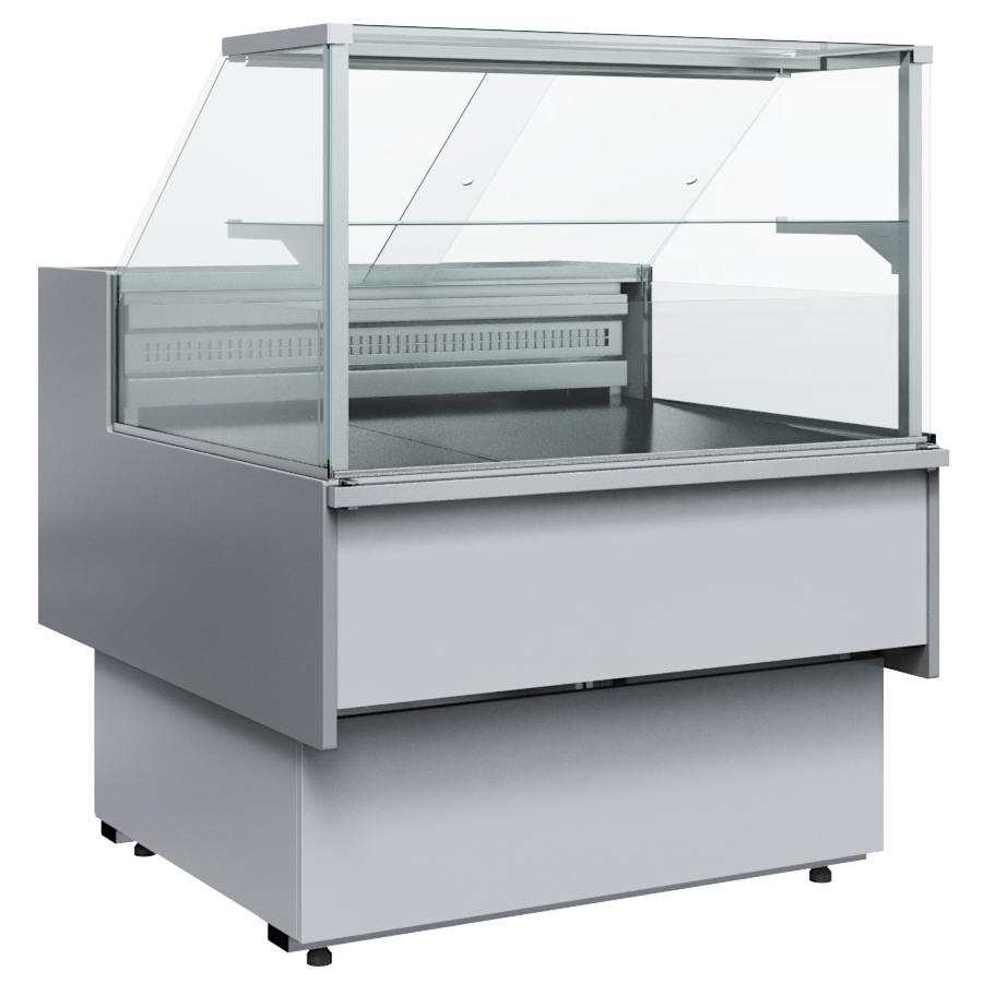 Витрина холодильная Carboma Bavaria 2 GC110 SM 0,94-1 (с боковинами) 0011-9006 на сайте Белторгхолод