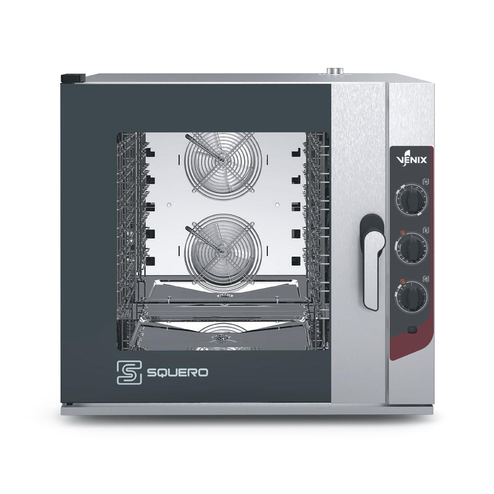 Пароконвектомат VENIX SQUERO MANUAL SQ07M00