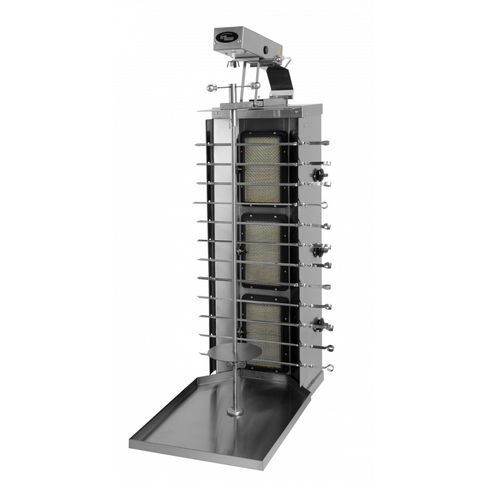 Аппарат для шаурмы газовый Гриль Мастер Ф3ШмГ (у) (арт. 11209)