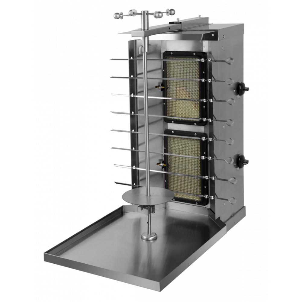 Аппарат для шаурмы газовый Гриль Мастер Ф2ШмГ (max 60 кг)
