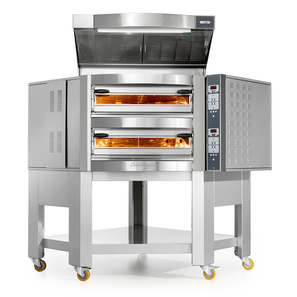 Печь для пиццы Cuppone Caravaggio CR535/2CD