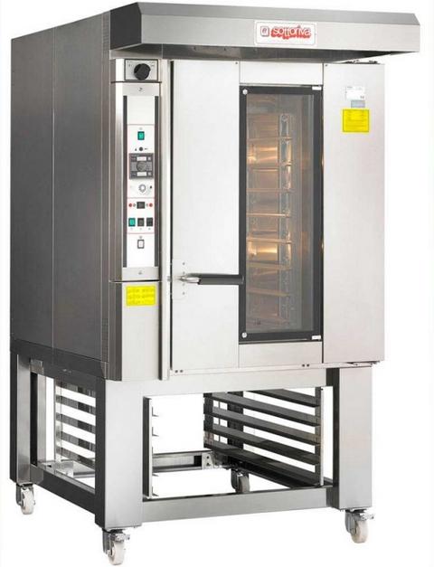 Печь ротационная электрическая Sottoriva QUASAR MINI 4676 E TOP