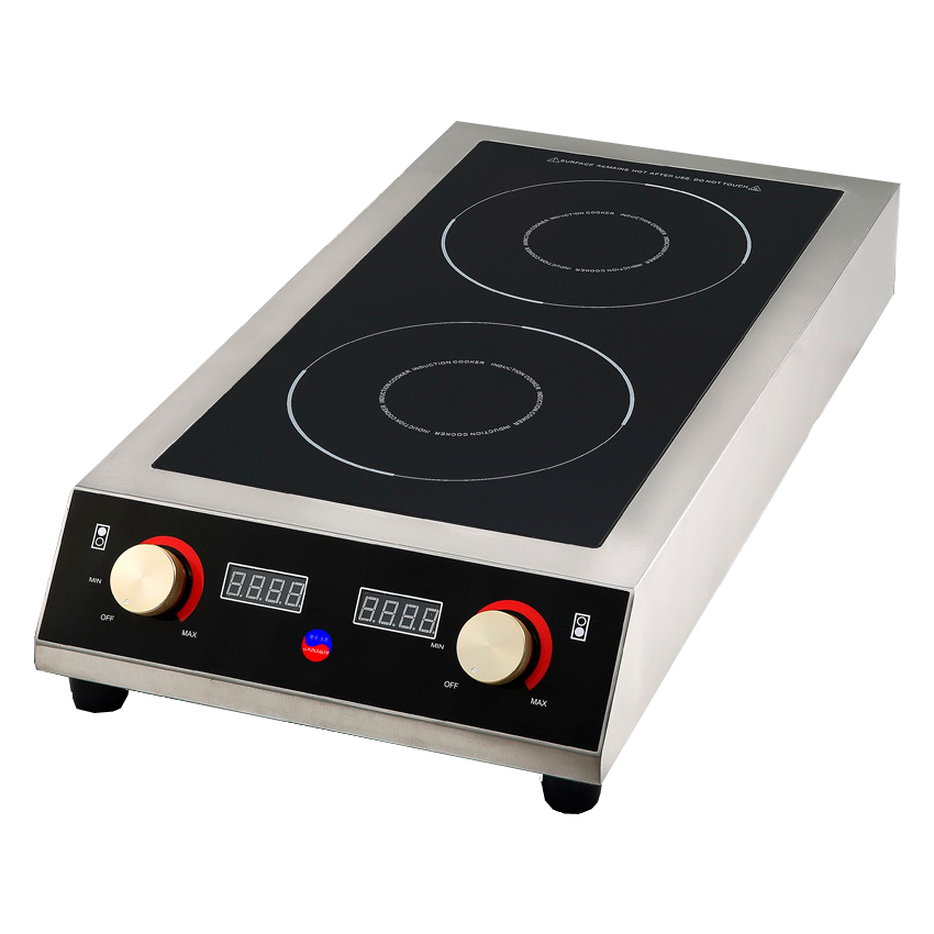 Плита индукционная двухконфорочная INDOKOR IN7000 D