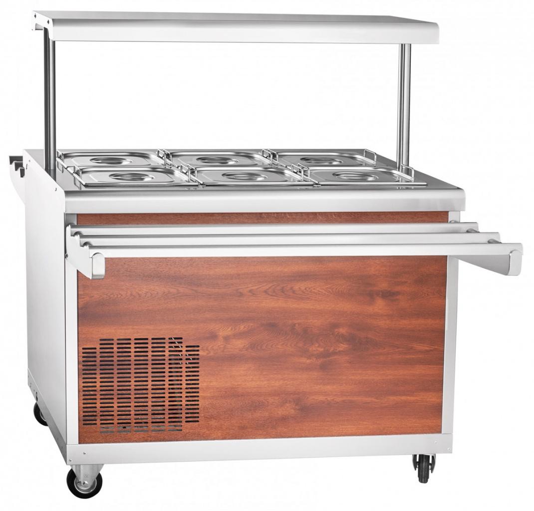 Прилавок холодильный ЧувашТоргТехника ПВВ(Н)-70ПМ-НШ