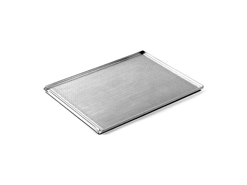 Противень WLBake алюминиевый, 800x600x20, 3 борта, перфорированный