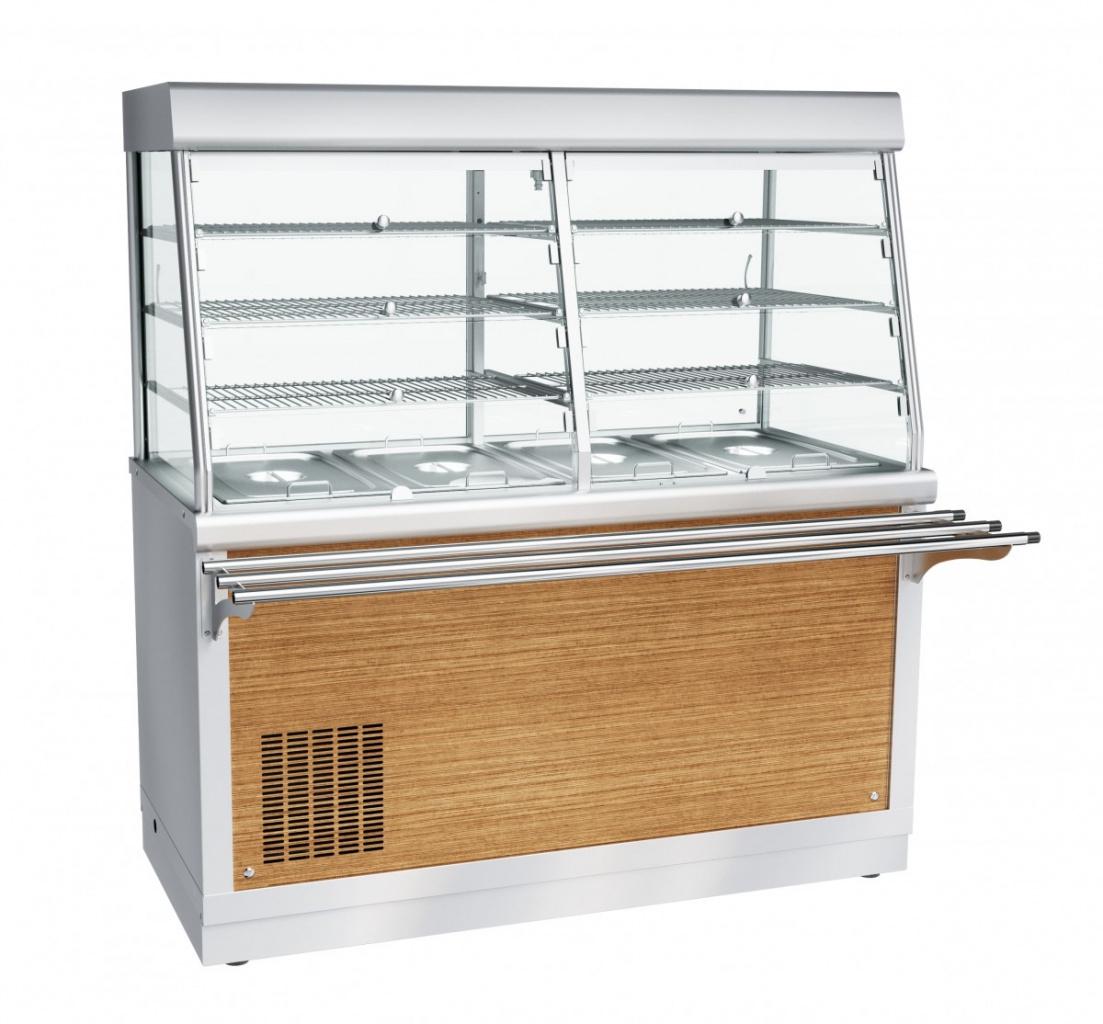 Прилавок-витрина холодильный ЧувашТоргТехника ПВВ(Н)-70Х-С-01-НШ
