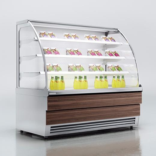 Витрина холодильная ES SYSTEM K RCC Carina 02 Self 1,0
