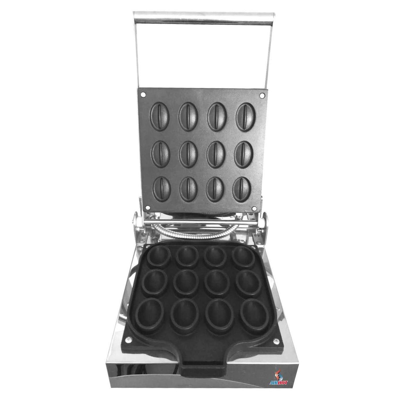 Вафельница для вафель в форме кофейных зёрен Airhot WWN-12 COFFEE BEAN
