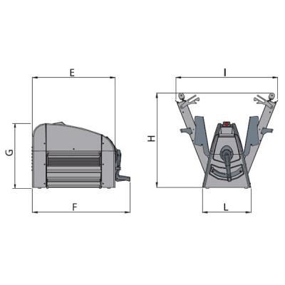Тестораскаточная машина Flamic SF500BVDX850