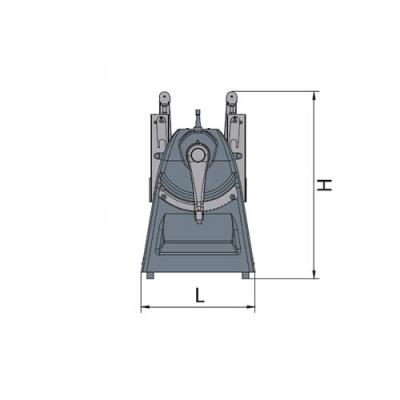 Тестораскаточная машина Flamic SF450BDX500