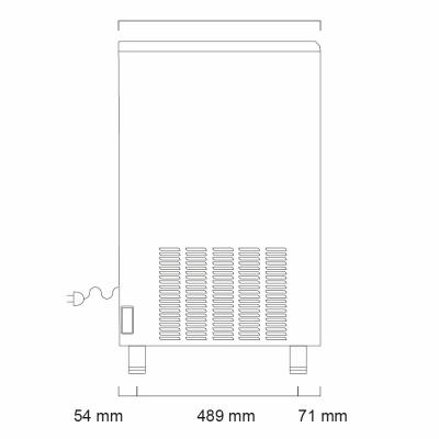 Льдогенератор Icematic F 200 C W