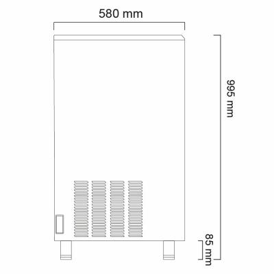 Льдогенератор Icematic CS 70 ZP W