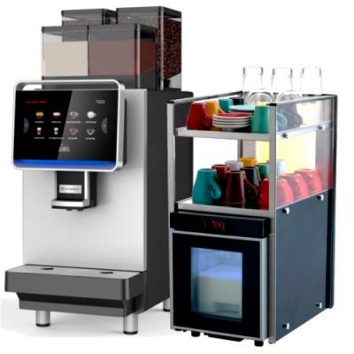 Кофемашина Dr.Coffee F2 Plus с кулером F2