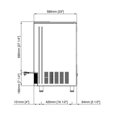 Льдогенератор Icematic E 85 A