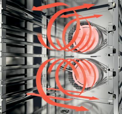 Печь пароконвекционная Radax CHEKHOV CC10DYC