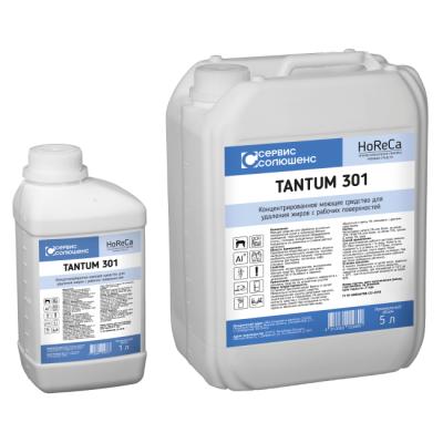 Средство моющее концентрированное для удаления жиров с рабочих поверхностей Сервис Солюшенс Tantum 301